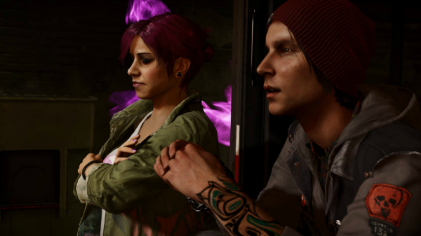 infamous second son delsin and fetch hook up Fetch, eugene and reggie all fell into the water before delsin's first fight against augustine reggie only had concrete on his legs and one arm, but fetch and eugene were both completely encased no explanation is given for how fetch and eugene escaped, but reggie didn't.